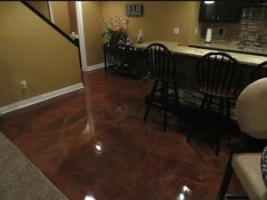 Metallic Marble Concrete Flooring